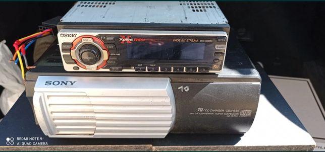 Radio samochodowe Sony MDX-C6500RX