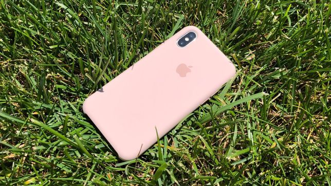 Iphone X case pink sand