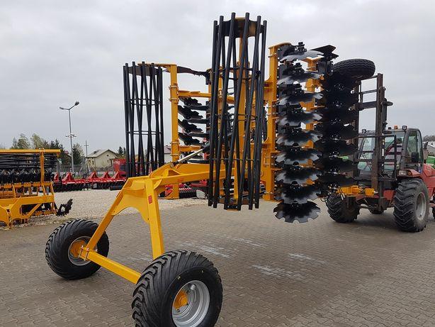 STALTECH Brona Talerzowa Grano System Agregat Talerzowy UHEX Wózek