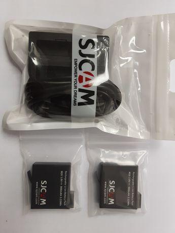 SJCAM ładowarka, akumulatorki 900mA