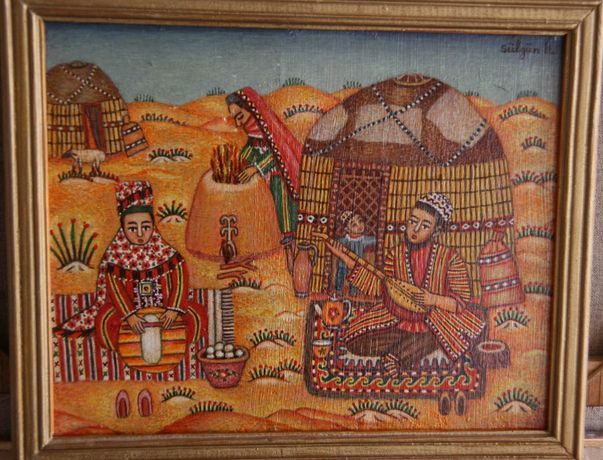 Картина Сулгун Хожагулаеваа (Ашхабад) Обед, 2004