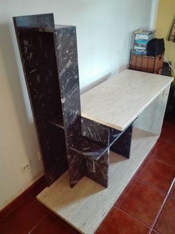 Móvel de TV em pedra