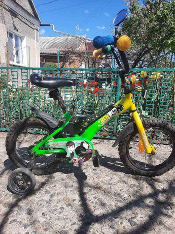 Велосипед на 3-5 років