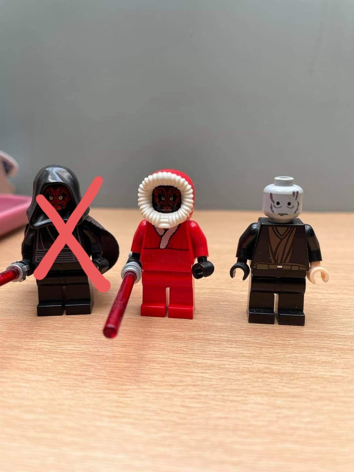 LEGO Star Wars Darth Maul i Anakin Skywalker