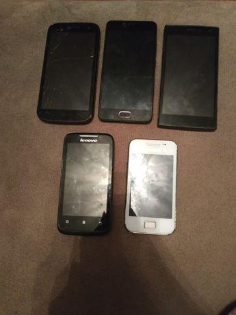Телефони не рабочие на запчасти