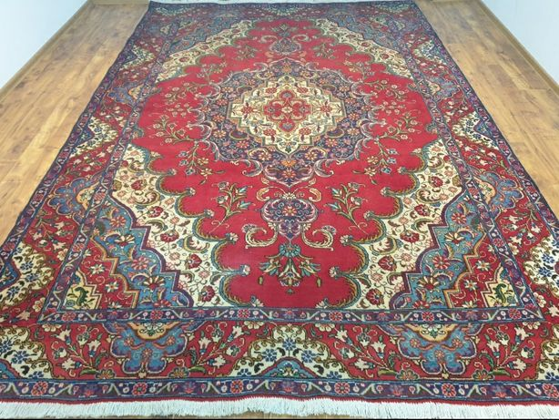 Tebriz Persja 250 x 380 Ręcznie tkany perski dywan z Iranu