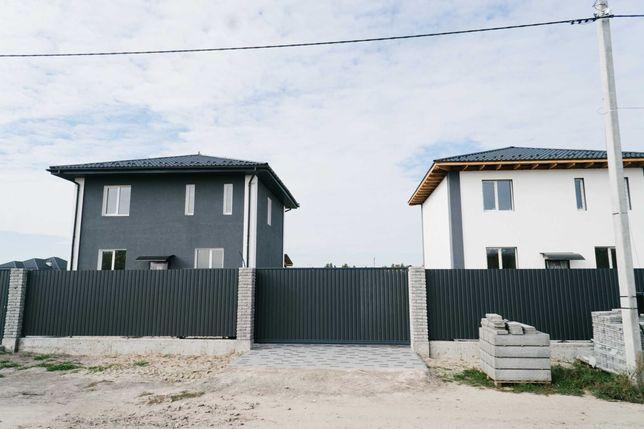 Двухэтажный дом 2021 года  130м2+27м терраса