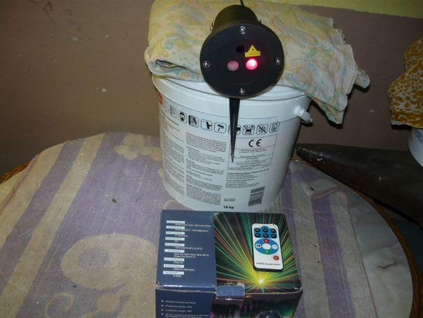 Projektor Laser ogrodowy świąteczny
