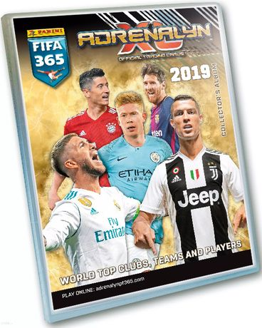 Karty Panini FIFA 365 Adrenalyn XL 2019