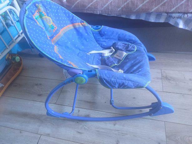 Шезлонг, кресло качалка fisher price с вибрацией