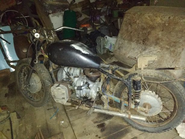 Мотоцикл к750м 1967г.