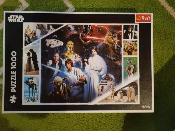 1000 puzzli ze Star Wars.
