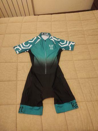 Fato/ Equipamento de ciclismo mulher/ senhora Tam. M