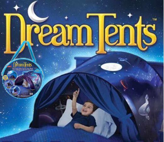 nowy namiot typu Pop-up, baldachim na łóżko - kosmos