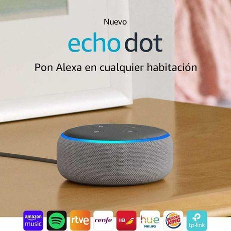 Amazon Echo Dot 3ª Geração - Coluna Inteligente Alexa