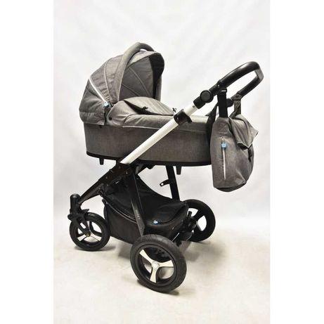 Baby Design Husky 2w1 z WINTER-PACKIEM! - DARMOWA WYSYŁKA! Szarość