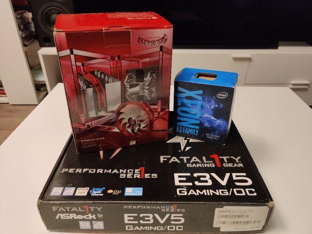 ASRock E3V5 Gaming/OC + Intel Xeon E3-1270 v5