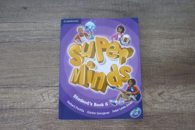 Język angielski. Super Minds 6. Student's Book + DVD