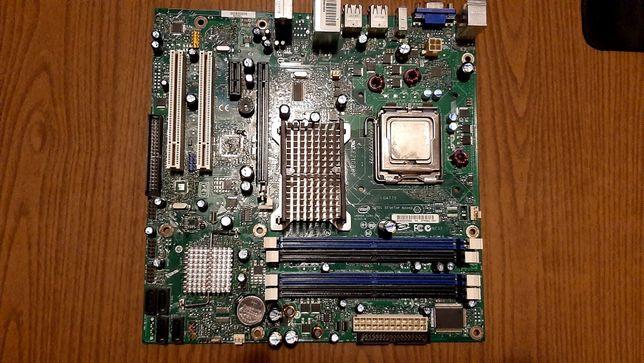 Материнская плата Intel DG33BU на запчасти