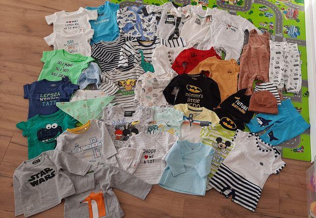 Ubrania dla chłopca r. 56 i 62