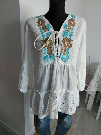Tunika / sukienka biała