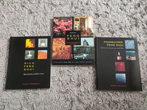 Siła, Kolory, podręcznik feng shui,  3 książki