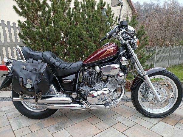 Witam sprzedam Yamaha XV 750 motocykl idealnym stanie
