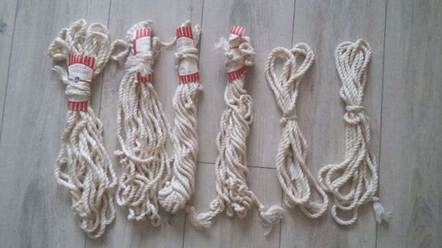 веревка ссср хозяйственная, шнур крученный.