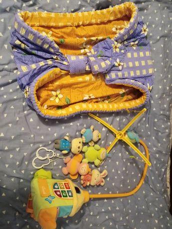 Мобиль на детскую кроватку Chicco Слінг в подарок