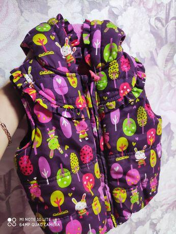 Продам жилетку для малышки