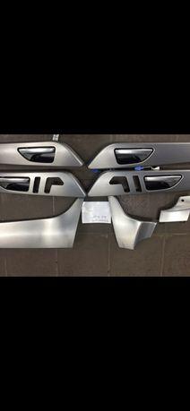 Накладки салона.Mercedes Benz GLE.166