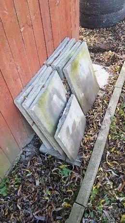 daszek betonowy dwuspadowy na murek słupek nakrycie muru