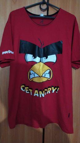 Футболка Angry Birds reserved красная
