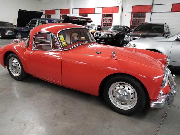MG A Coupé - 1958