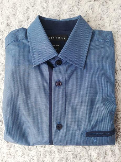 Koszula męska Vistula Slim rozmiar 40