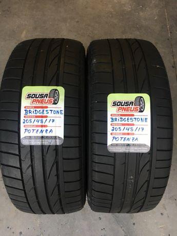 Vendo 2 pneus semi novos bridgestone 205/45/17 - Oferta dos Portes
