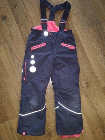 Cool Club narciarskie 116 zimowe spodnie sanki