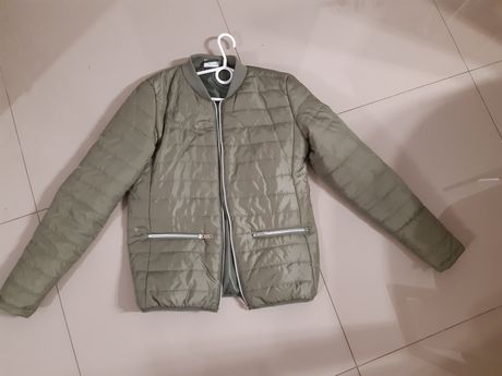 NOWA kurtka pikowana khaki zielona