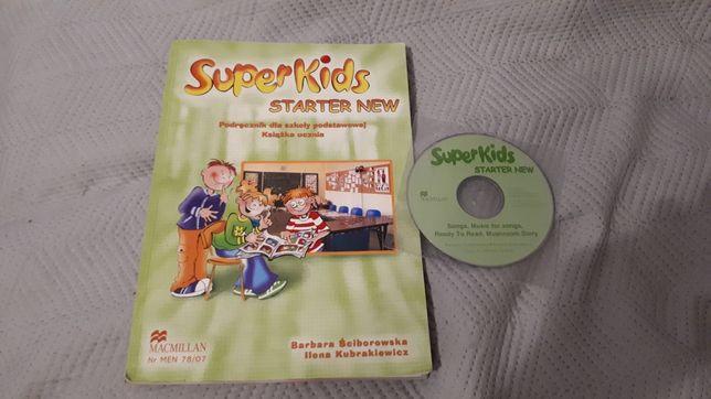 Super Kids starter new podręcznik j. angielski