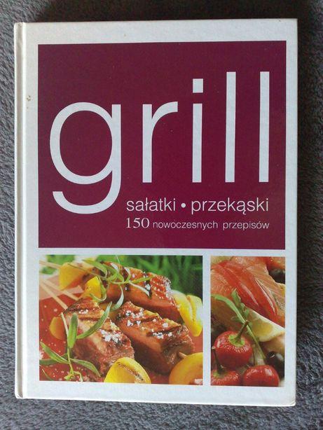 grill-sałatki, przekąski