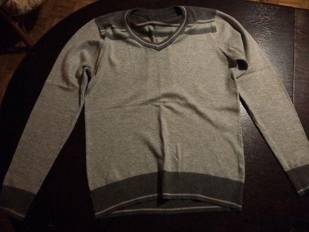 szary sweter - rozmiar s