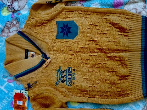Турецкий свитерок на 3 года