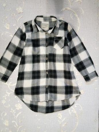Next Платье-рубашка на девочку 5лет
