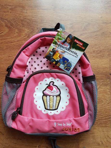 Śliczny plecaczek Sweet cake dla przedszkolaka