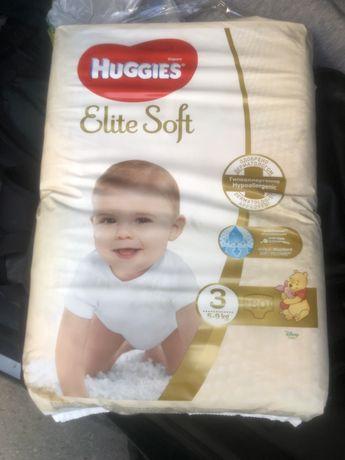 Huggies elite soft , хагіс , памперси