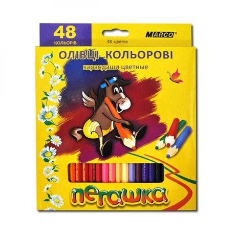 Карандаши цветные Marco Пегашка на 48 цветов