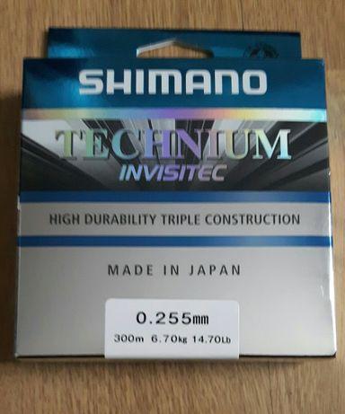 Żyłka Technium Invisitec 0,255mm 300m 6,70kg Shimano