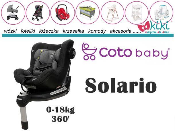 Coto Baby Fotelik samochodowy obrotowy 360` Solario