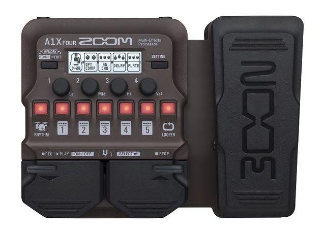 Zoom A1X Four - multiefekt gitarowy