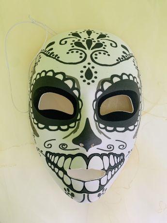 Halloween, маска Santa Muerte Санта Муэрте + фата